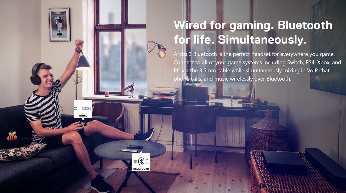 SteelSeries Arctis 3 7.1 Gaming Headset Black Intro