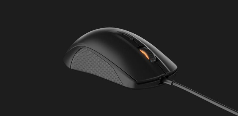 SteelSeries Rival 100 Gaming Mouse Black 62341 Universal Design