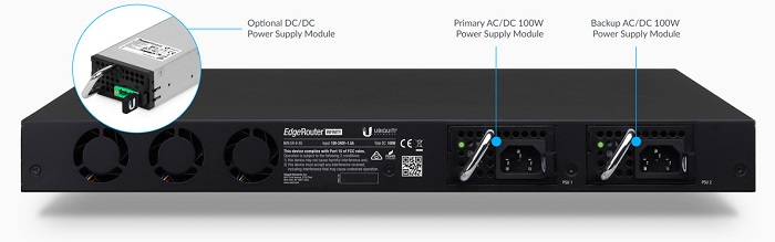 Ubiquiti ER-8-XG 8 port Router Power Versatility