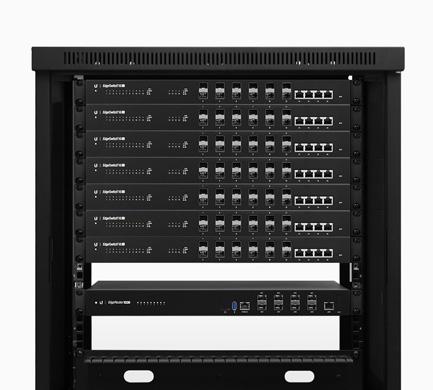 Ubiquiti ER-8-XG 8 port Router Rackmount Design