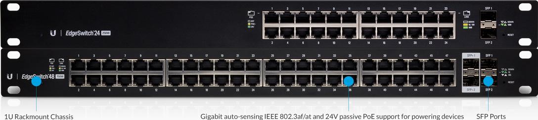 Ubiquiti Networks EdgeSwitch ES-48-750W Powerful Enterprise