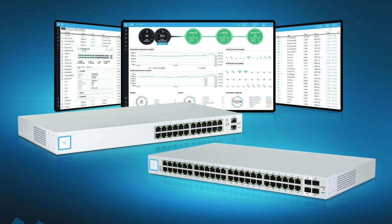 Ubiquiti UniFi US-24-500W 24-port Switch Powerful Enterprise